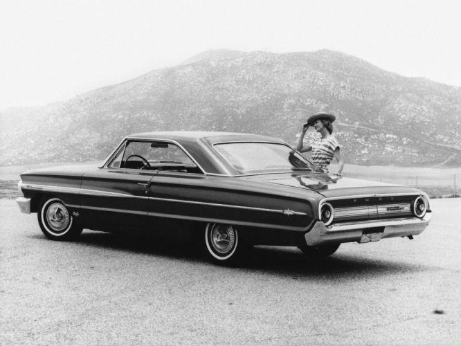1964 Ford Galaxie 500 X-L Club Victoria classic wallpaper