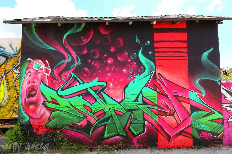 граффити в картинках цвет пирожки картошкой