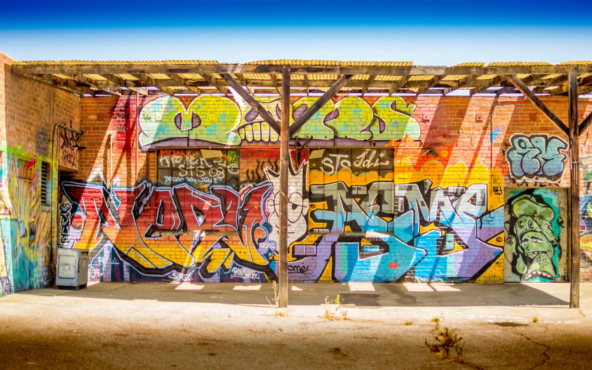 Los Angeles California Pacific Buildings Cities Graffiti Colors Graff Wall Art Street Illegal City Wallpaper 2048x1282 450555 Wallpaperup