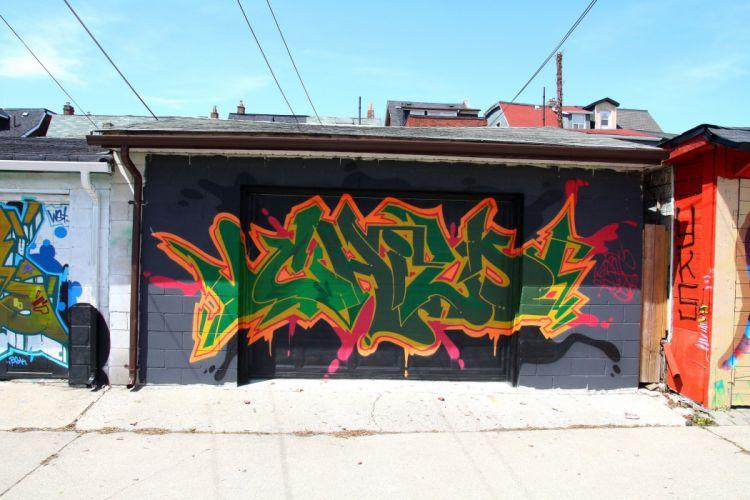 art buildings cities City colors graff Graffiti illegal toronto canada street wall wallpaper
