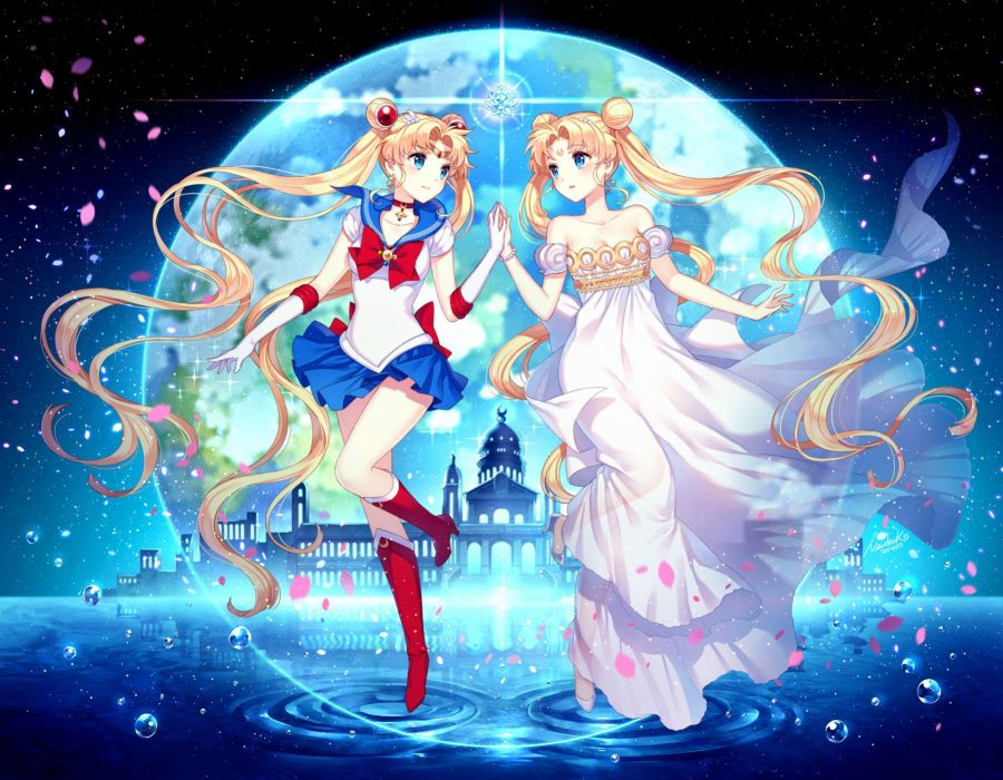 Usagi Serenty Sailor Moon Kingdom Wallpaper