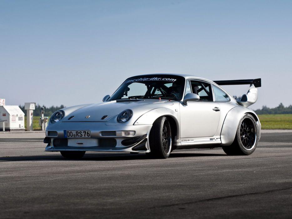 2002 McChip Porsche 993 GT2 Turbo Widebody MC600 race racing wallpaper