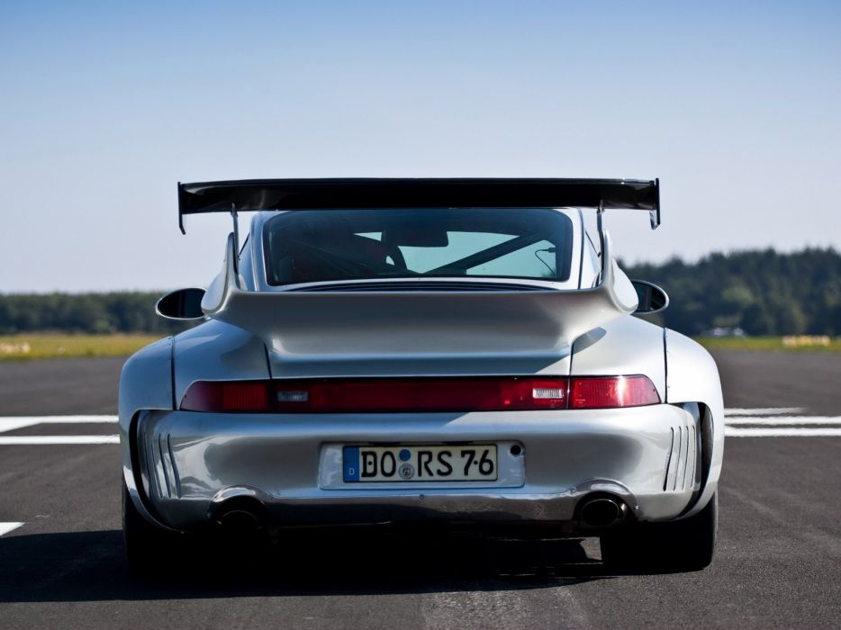 2002 McChip Porsche 993 GT2 Turbo Widebody MC600 race racing wallpaper