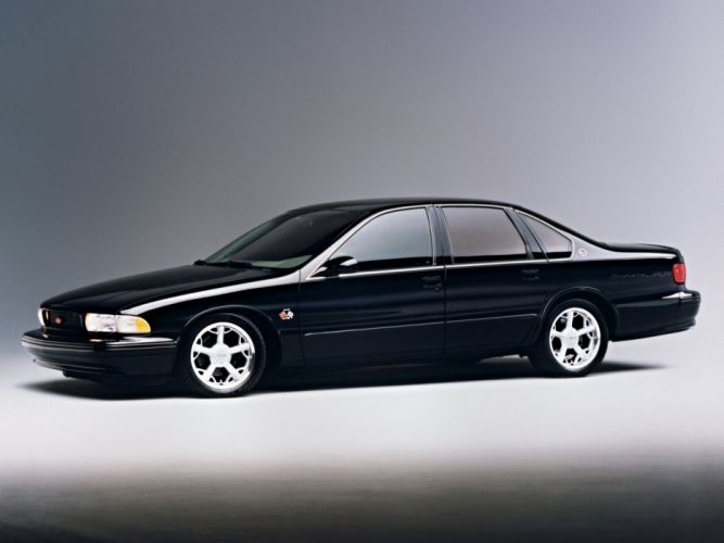 1996 Chevrolet Binford Hot Rod Impala -SS SEMA muscle wallpaper