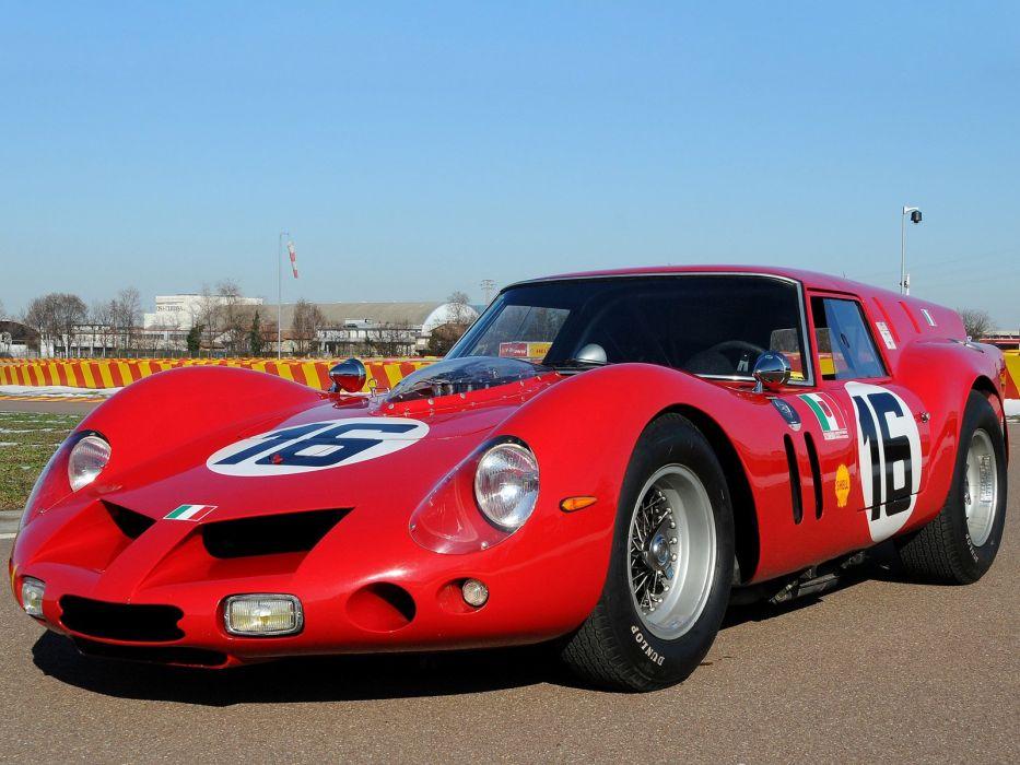 1961 Ferrari 250 G-T SWB Breadvan Competizione (2819GT) le-mans race racing grand prix classic wallpaper