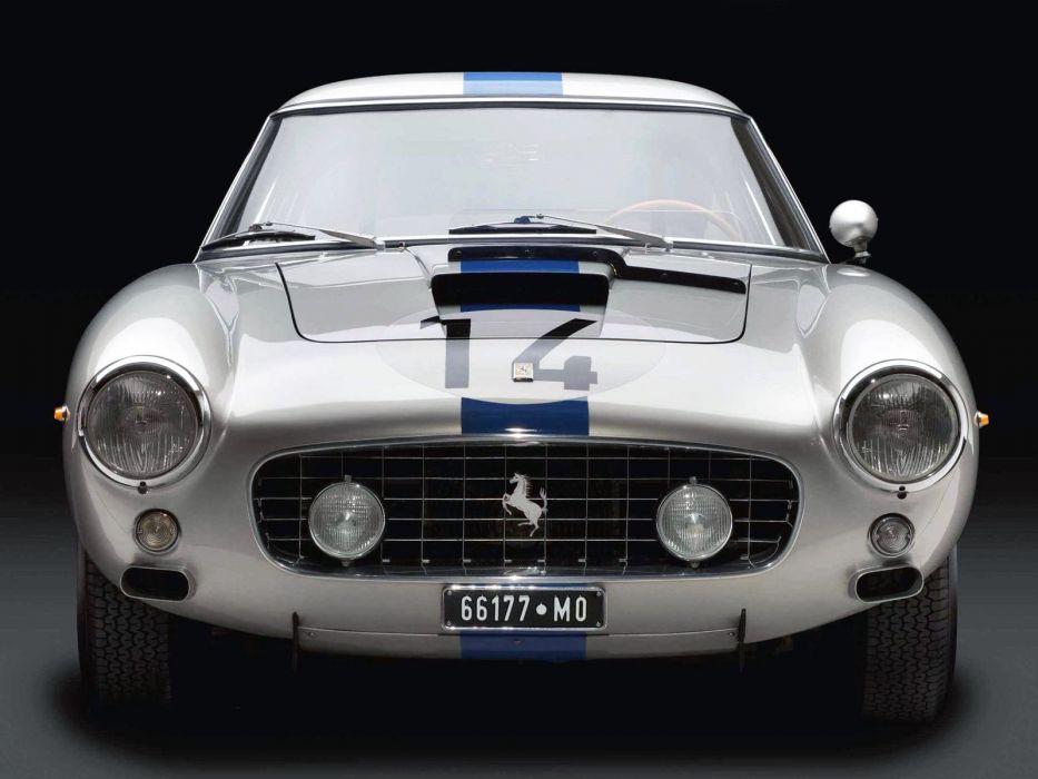 1960-62 Ferrari 250 G-T SWB Berlinetta Competizione supercar race racing classic wallpaper