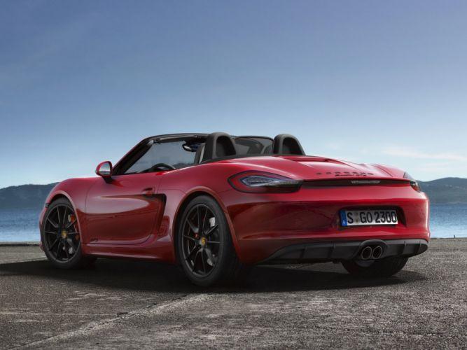 2014 Porsche Boxster GTS (981 wallpaper