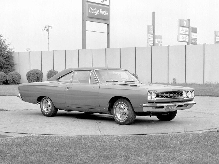 1968 Plymouth Road Runner Coupe Proposal muscle classic wallpaper