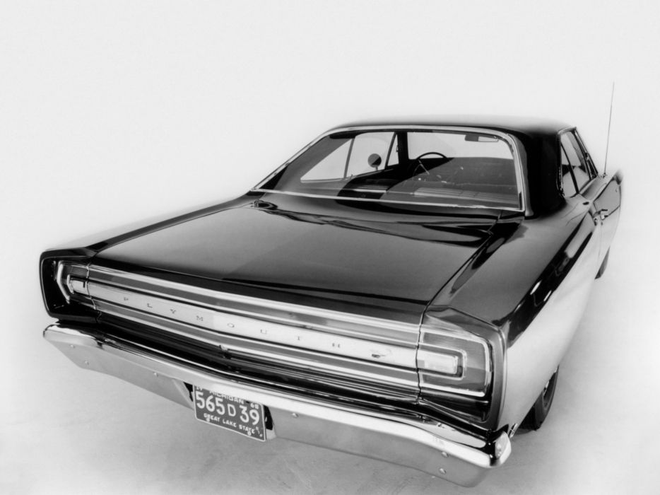 1968 Plymouth Road Runner 383 Coupe (RM21) muscle classic wallpaper