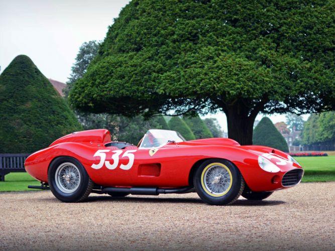 1957 Ferrari 315S race racing supercar 315 retro wallpaper