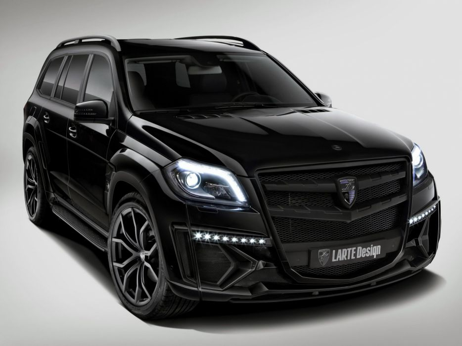 2014 Larte-Design Mercedes Benz G-L Black-Crystal (X166) tuning suv wallpaper