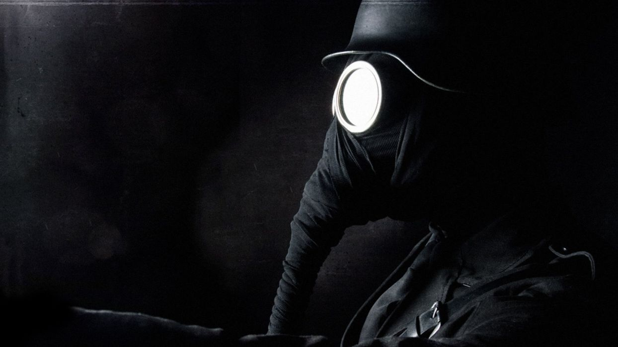 GAS MASK - helmet dark wallpaper