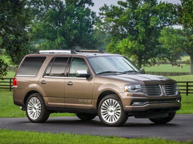 2015 Lincoln Navigator suv luxury wallpaper