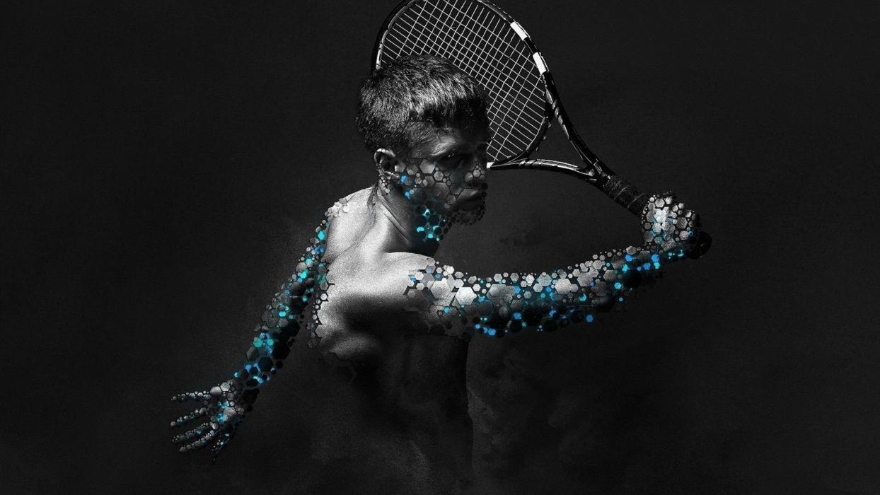 TENIS - 3D sports virtual wallpaper