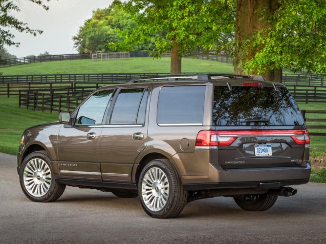 2015 Lincoln Navigator suv luxury wallpaper