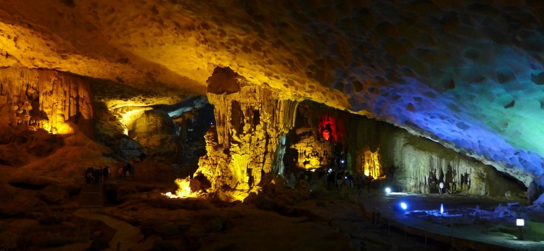cave entrance grotto Land sous stalagmites terre wallpaper