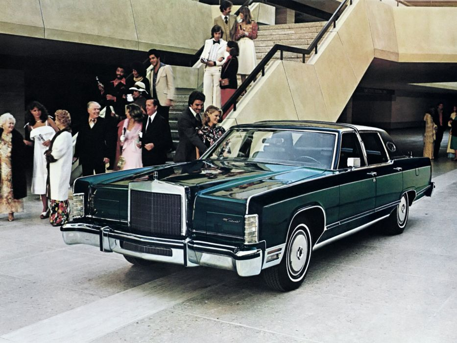 1978 Lincoln Continental TownCar (82-53B) luxury town wallpaper