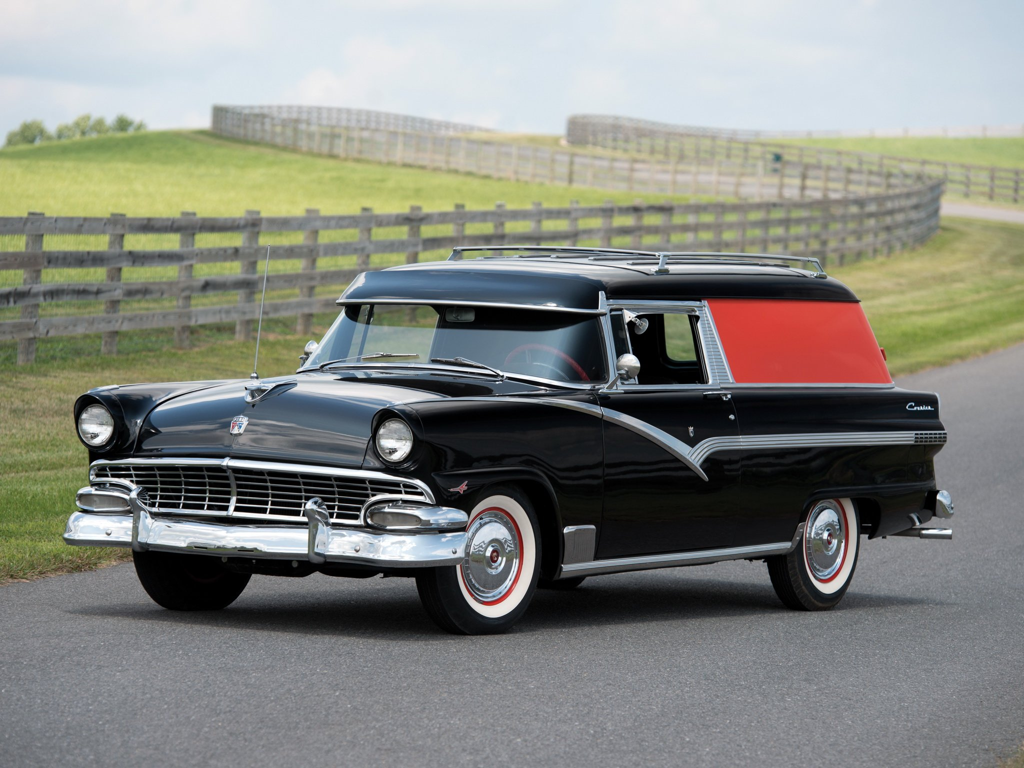 1956 Ford Courier Sedan Delivery Stationwagon Retro