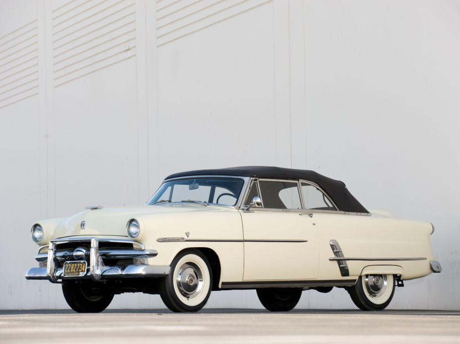 1953 Ford Crestline Sunliner Convertible (76B) retro wallpaper