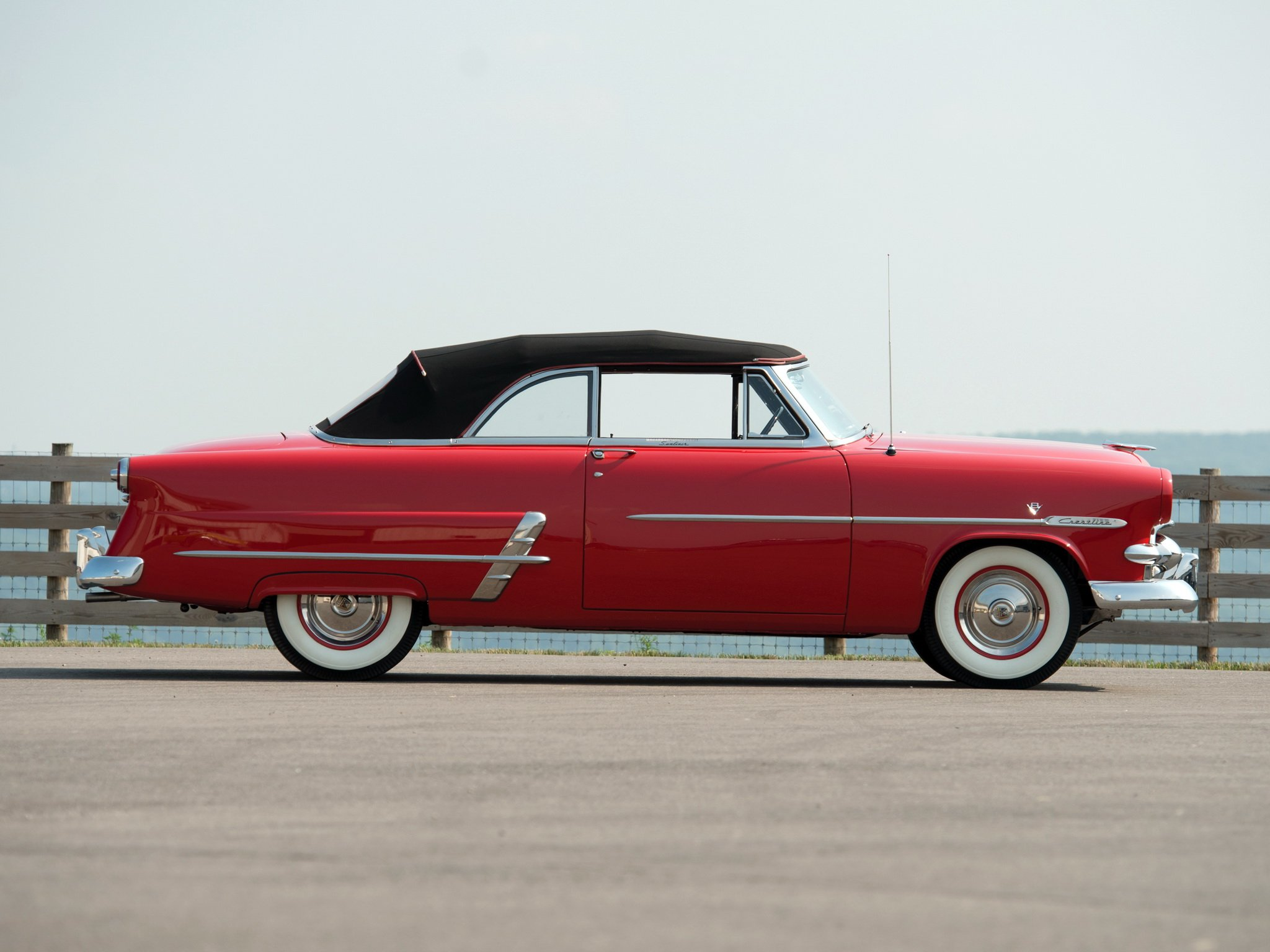 1953 ford crestline sunliner convertible for 1953 ford crestline victoria 2 door hardtop