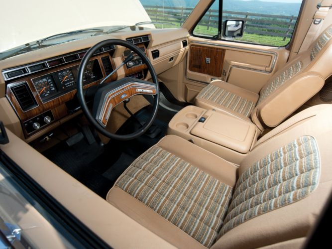 1982aei86 Ford Bronco XLT suv 4x4 wallpaper