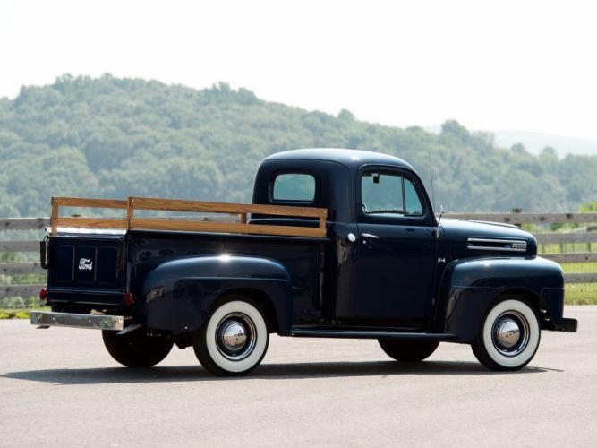 1948-50 Ford F-1 Pickup (8-3) retro wallpaper