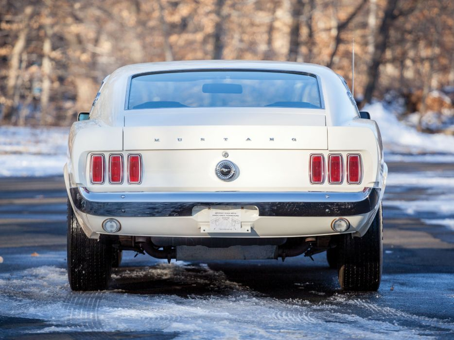 1969 Ford Mustang Boss 429 classic muscle wallpaper