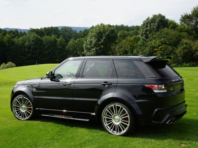 2014 Mansory Range Rover Sport tuning luxury suv wallpaper