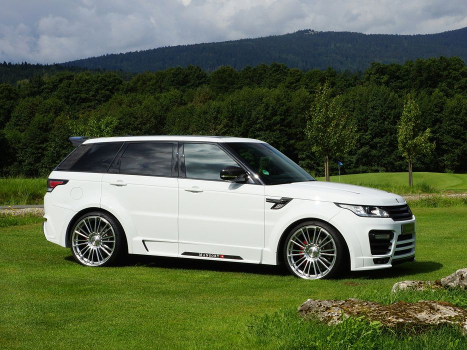 2014 Mansory Range Rover Sport tuning luxury suv wallpaper