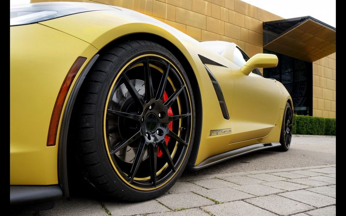2014 GeigerCars Chevrolet Corvette C-7 Stingray muscle supercar tuning wallpaper