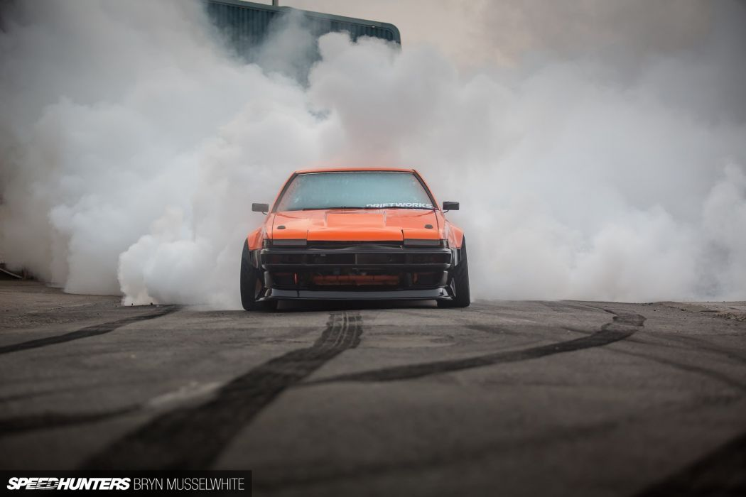Toyota AE86 race racing drift tuning wallpaper