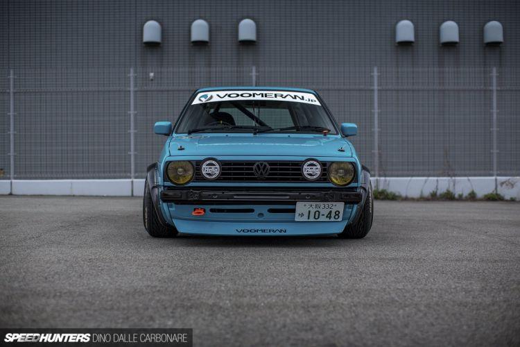Volkswagen Golf Mk2 tuning race racing wallpaper
