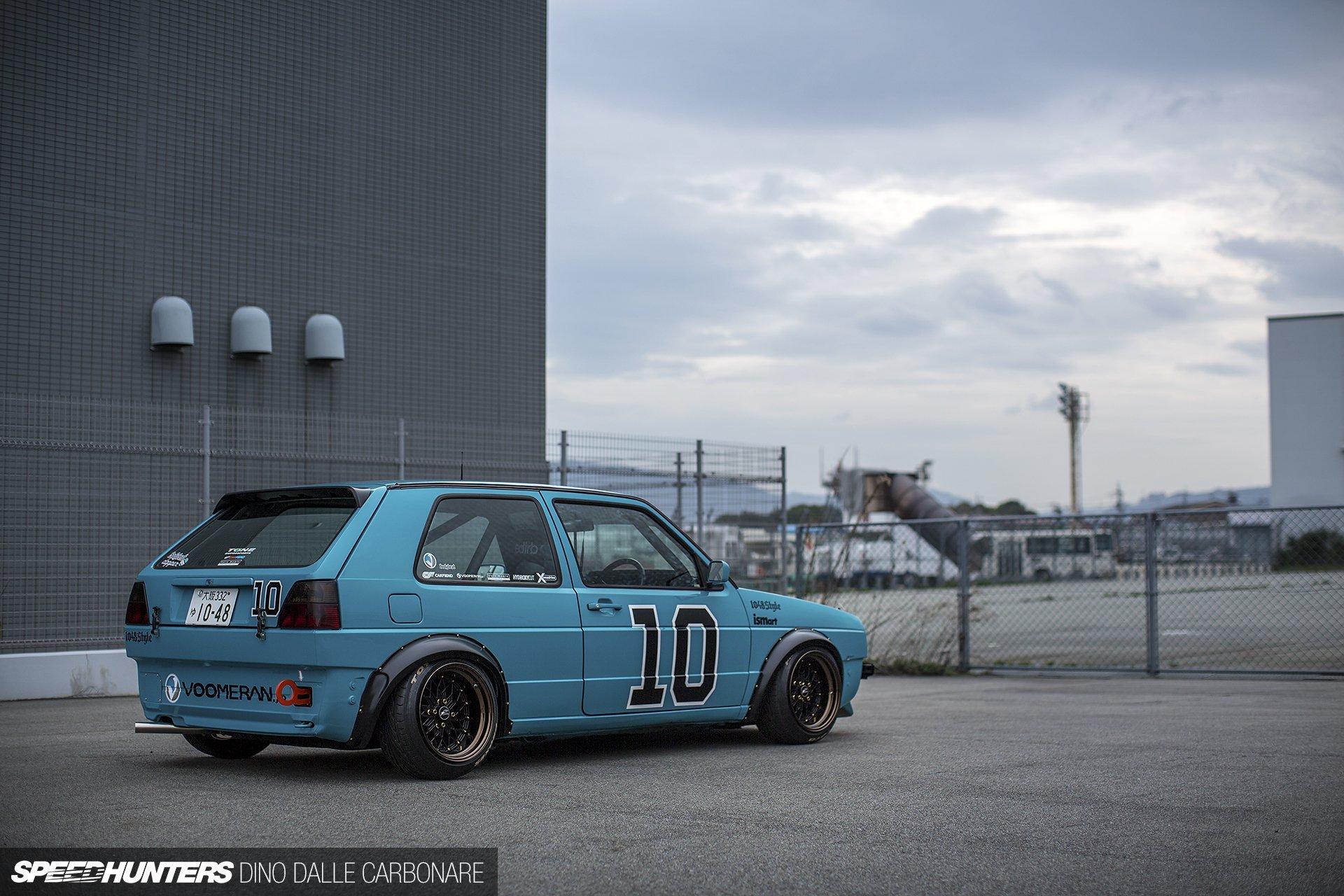 Volkswagen golf mk2 tuning race racing wallpaper for Interieur tuning auto