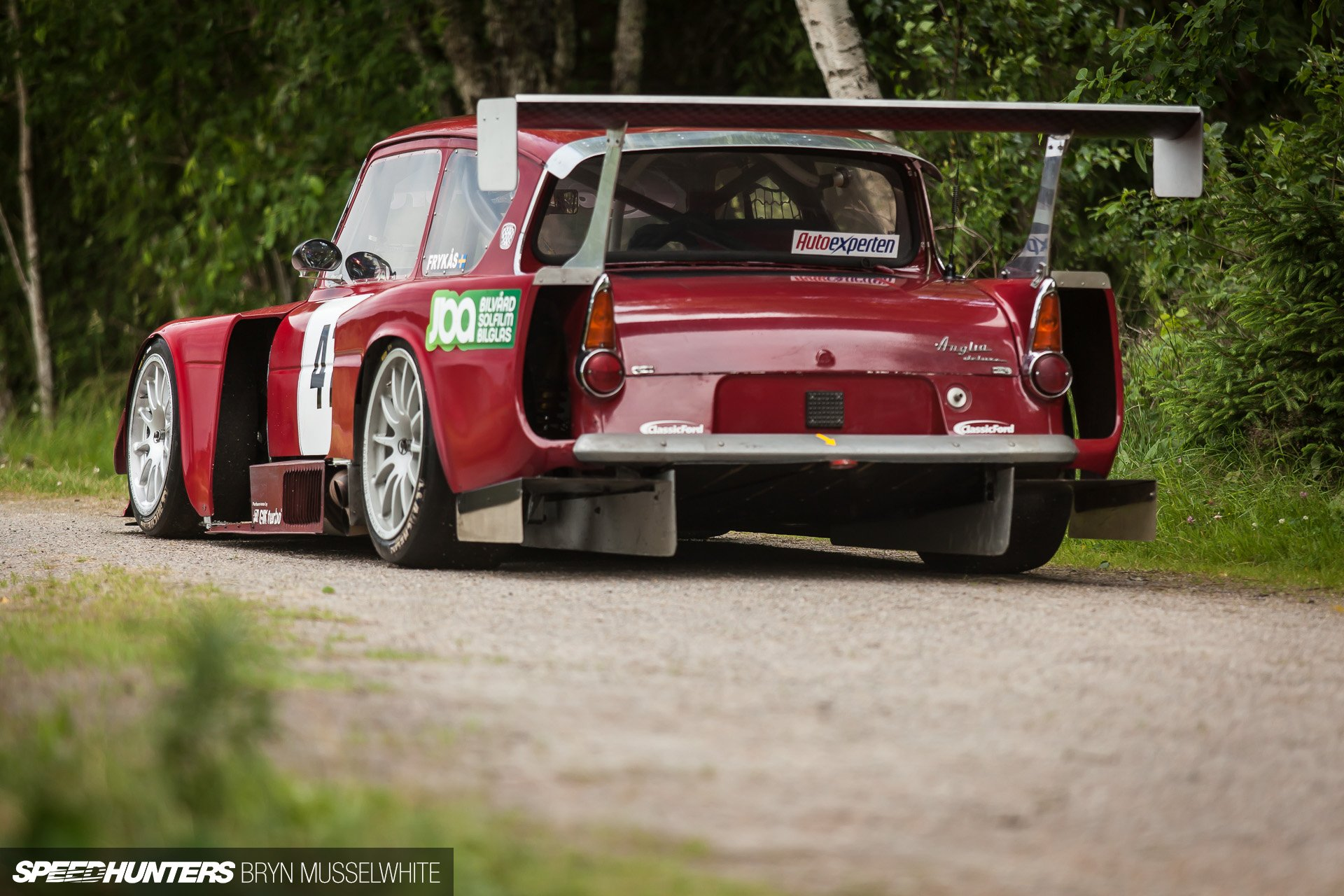 Ford Anglia Race Racing Tuning Volvo Wallpaper 1920x1280