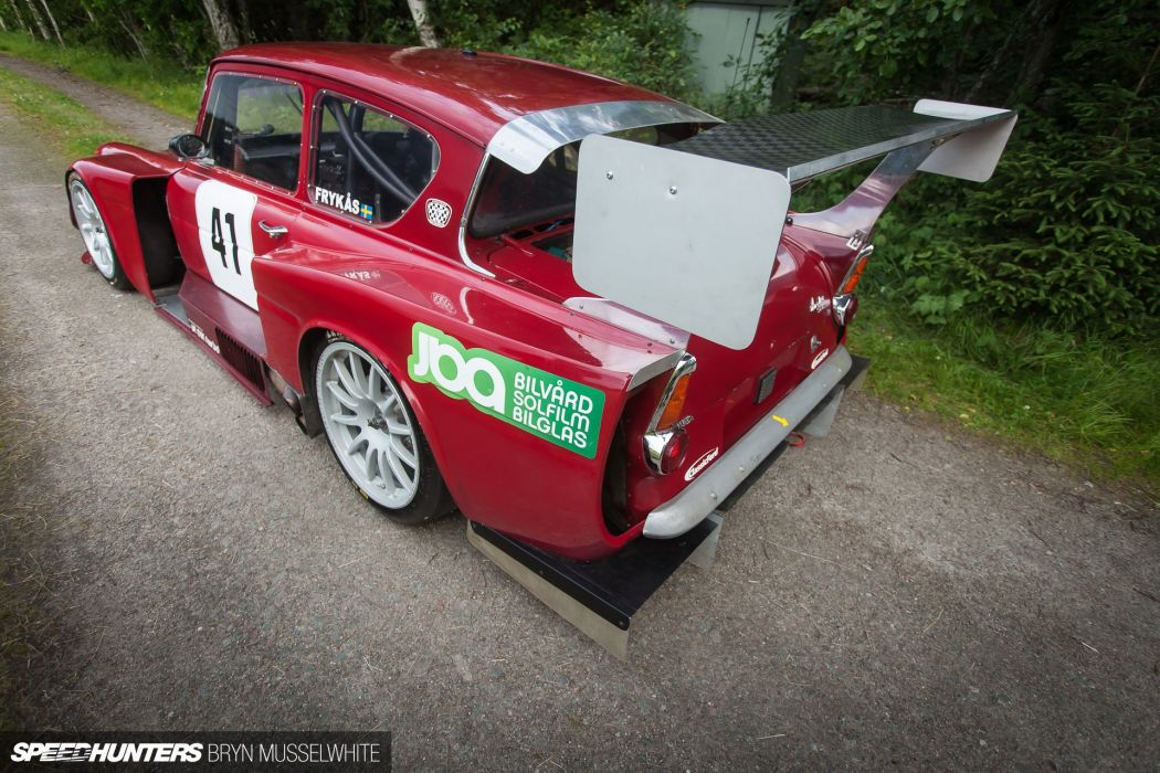 Ford Anglia race racing tuning volvo wallpaper
