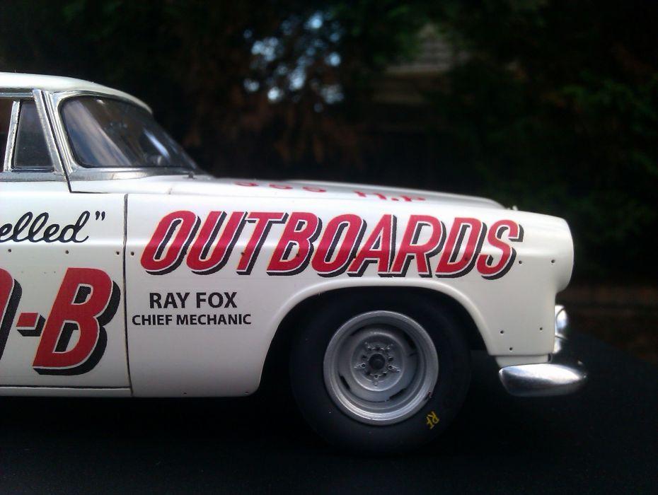 1956 Chrysler 300-B race car racing retro nascar wallpaper
