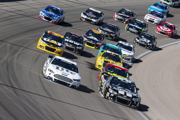 NASCAR race racing pickup wallpaper