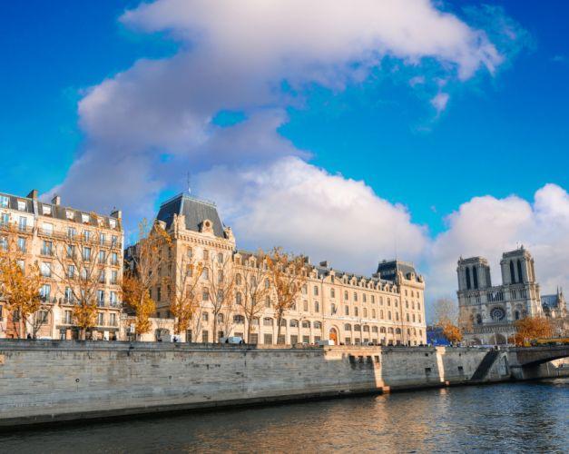 France House River Paris Cities wallpaper