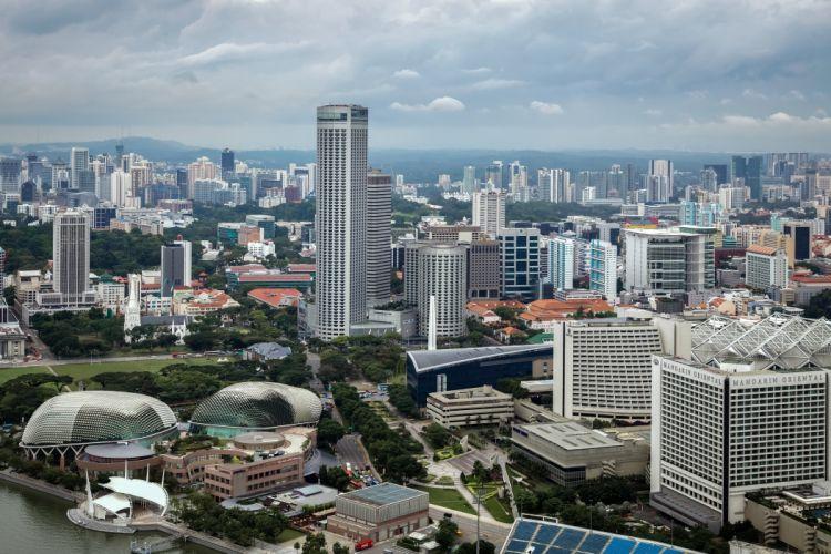 Singapore Houses Megapolis Cities wallpaper