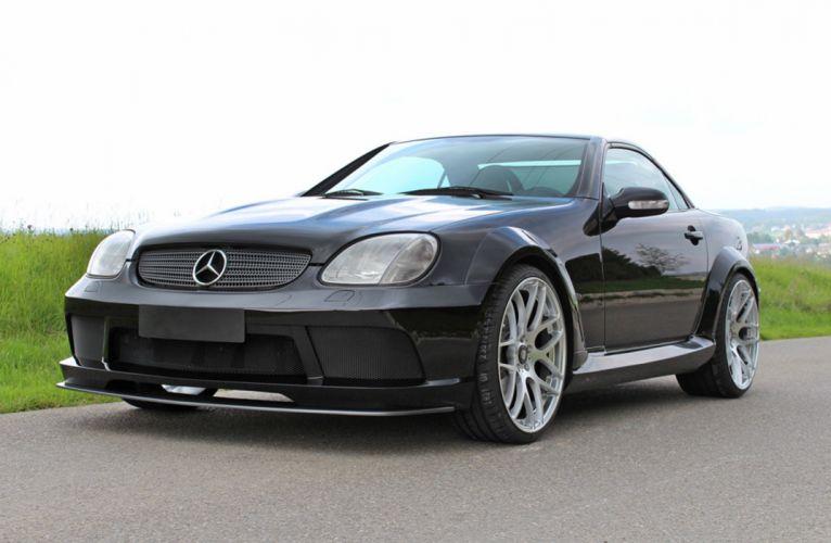 LUMMA Tuning Mercedes SLK-R170 wallpaper