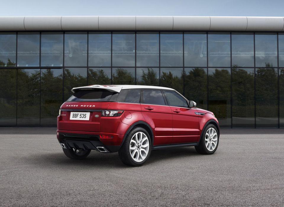 Range Rover Evoque SW1 tuning Britain suv wallpaper