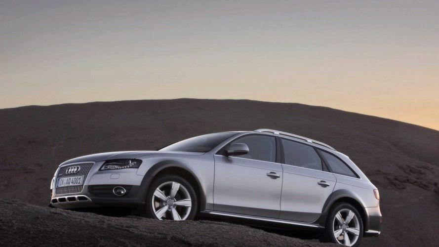Audi A4 allroad wallpaper