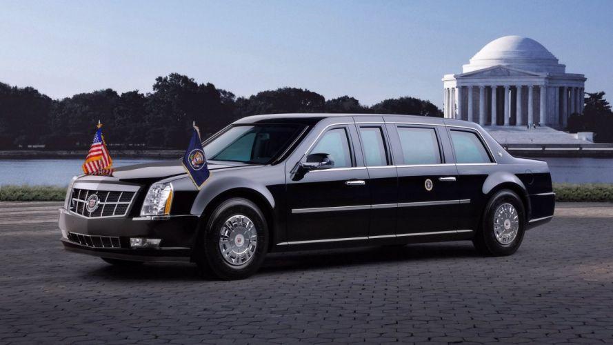 2009 Cadillac Presidential Limousine wallpaper