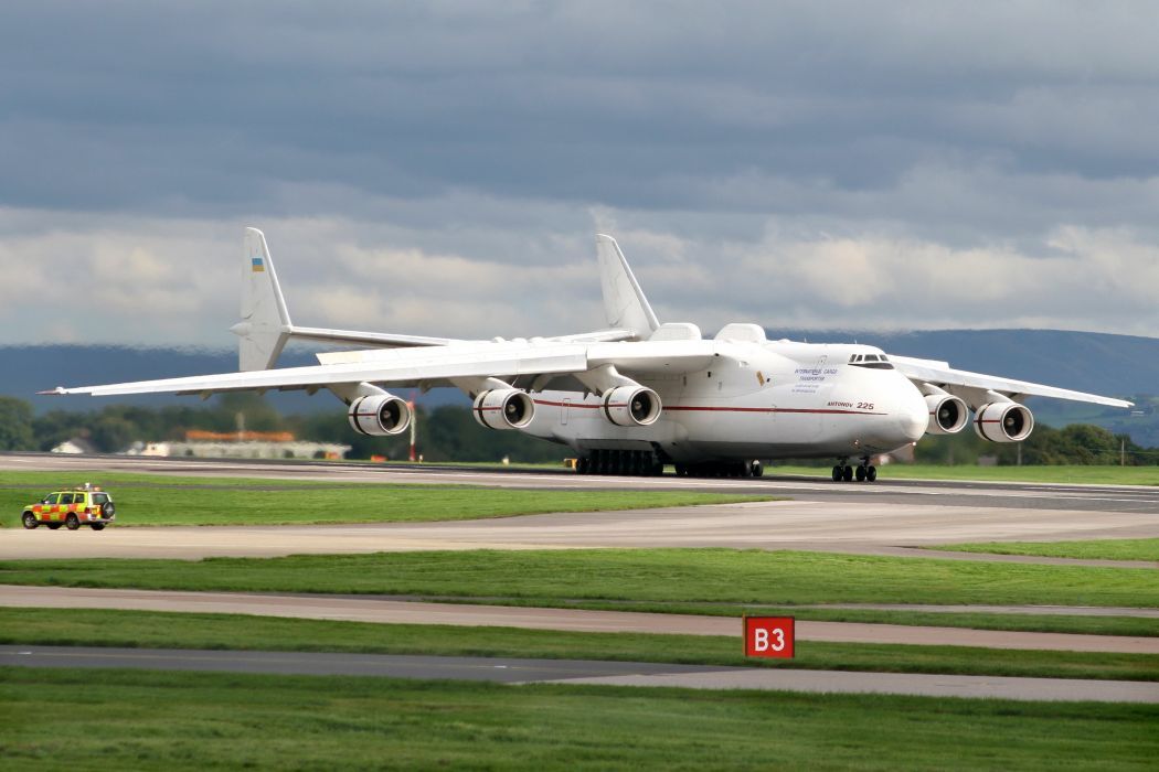 ANTONOV AN-225 aircrafts cargo transport russia airplane wallpaper