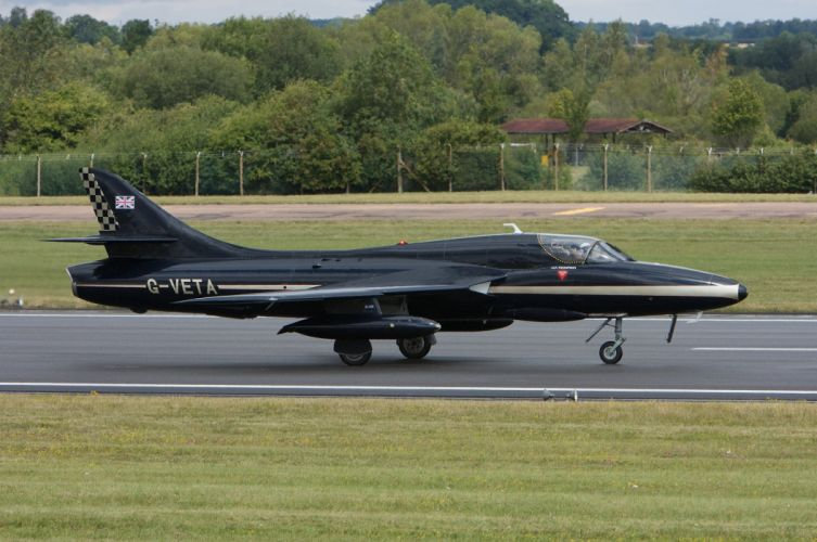 1954 Hawker Hunter-T7 Fighter bomber Reconnaissance aircrafts United Kingdom Royal-Air-Force Ground-attack wallpaper