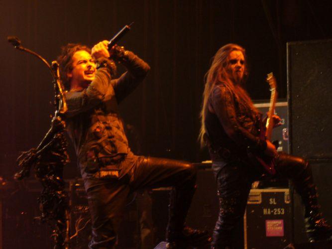 CRADLE OF FILTH gothic metal heavy extreme symphonic black dark concert wallpaper