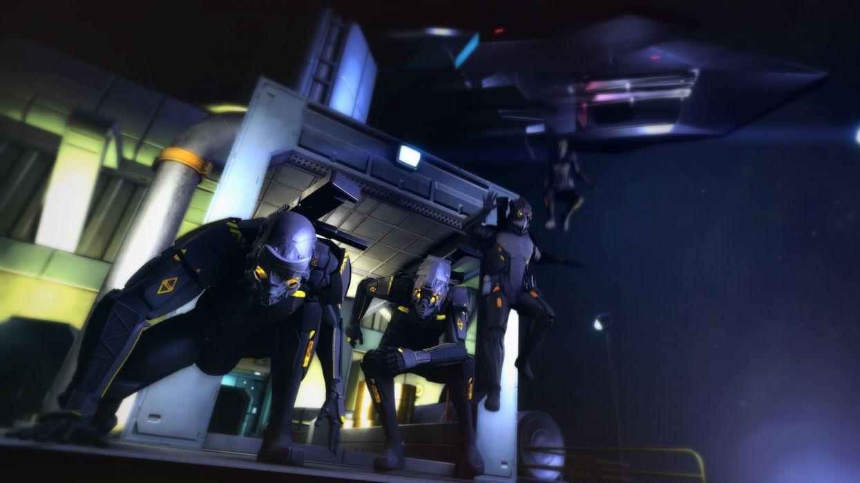 HOLLOWPOINT battle acttion futuristic sci-fi shooter wallpaper