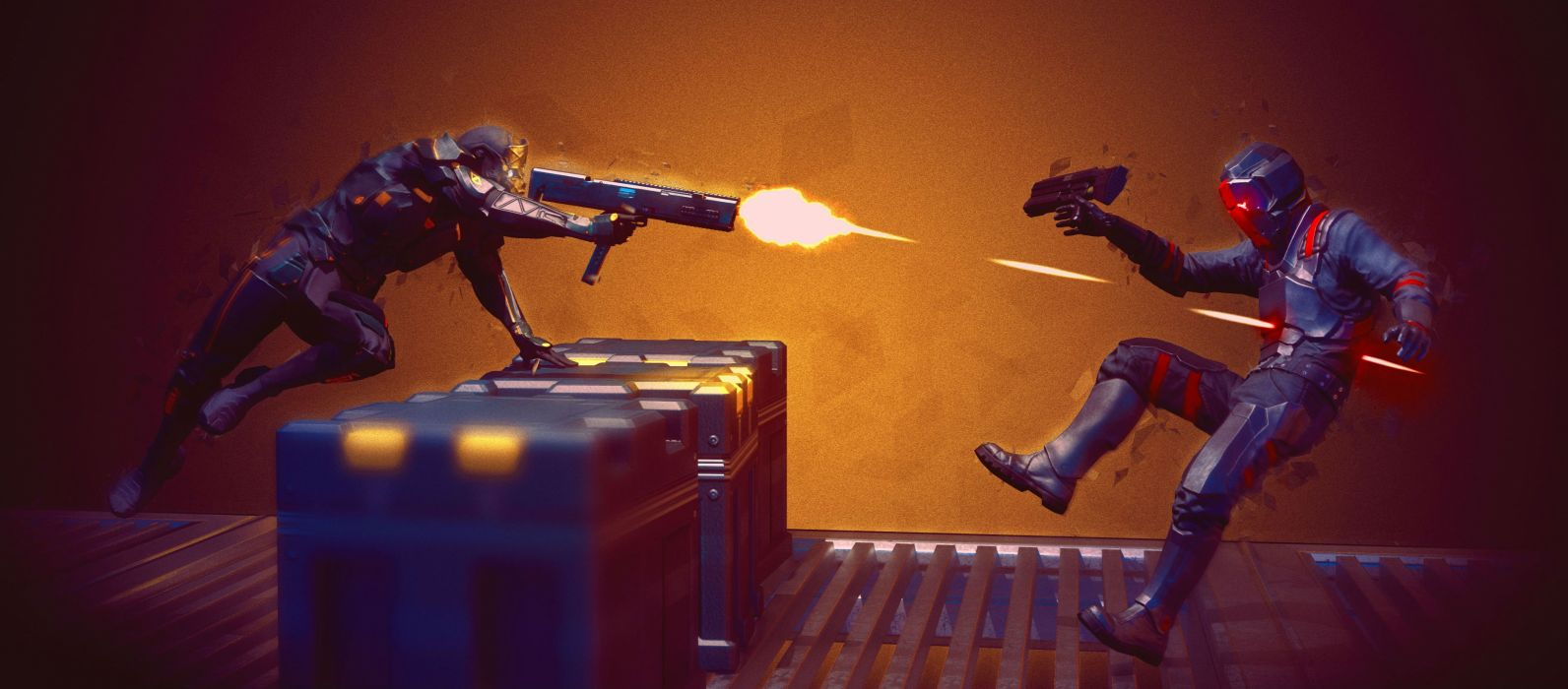 HOLLOWPOINT battle acttion futuristic sci-fi shooter wallpaper