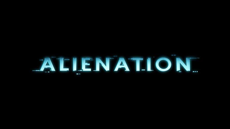 ALIENNATION sci-fi shooter action arcade wallpaper