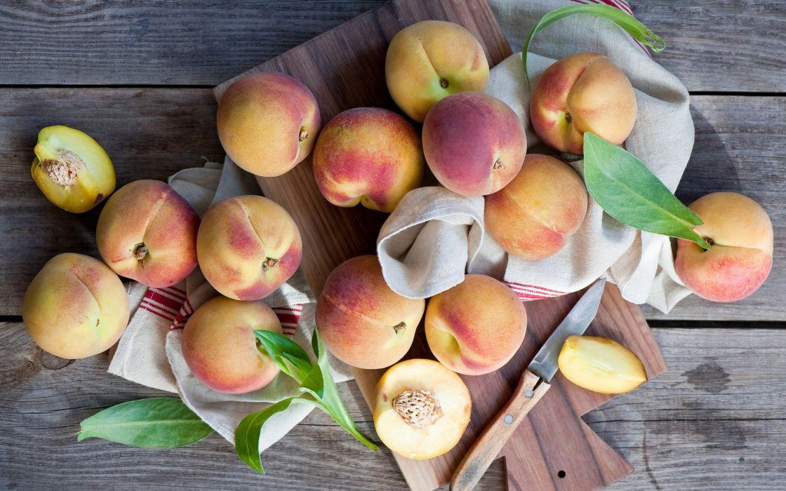 peachs plant fruit nature wallpaper